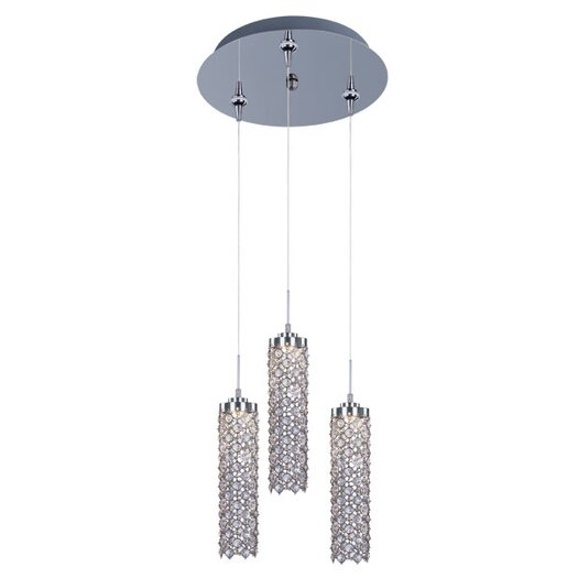 ET2 Shanell 3-Light LED RapidJack Pendant and Canopy