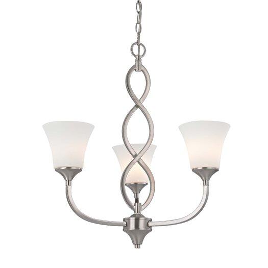 Dolan Designs Infini 3 Light Chandelier