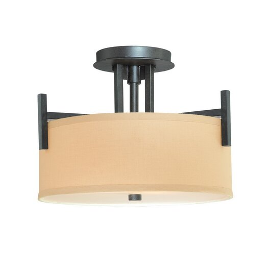 Dolan Designs Tecido 2 Light Semi Flush Mount