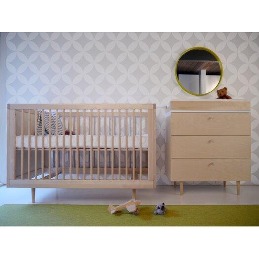 Spot on Square Ulm Convertible Crib