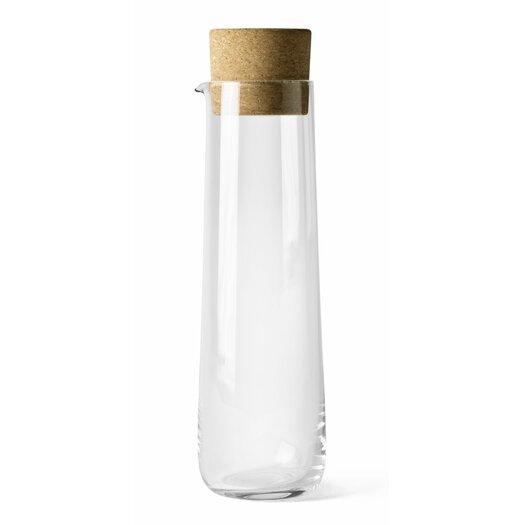 Menu Water Carafe with Cork Lid