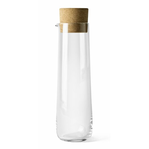 Menu Water Carafe with Cork Lid