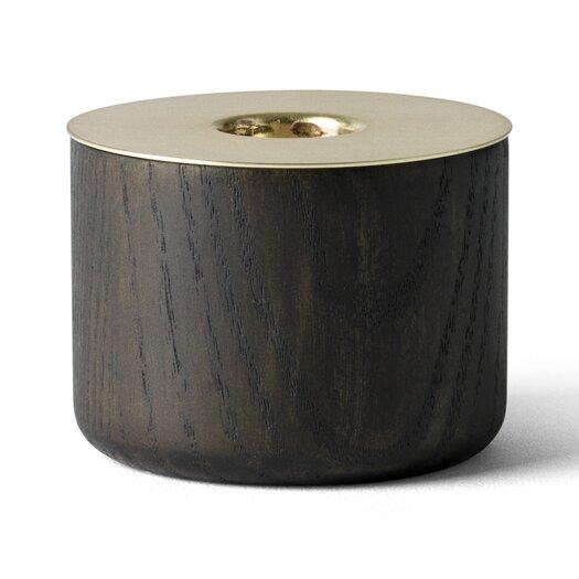 Menu Chunk of Wood / Metal Tealight