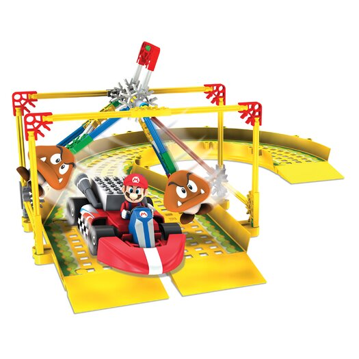 K'NEX Mario Circuit: Mario and the Goombas Building Set