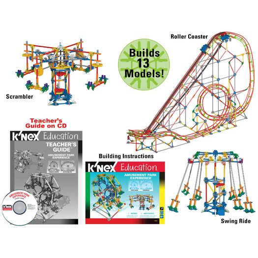 K'NEX Education Amusement Park Experience Building Set