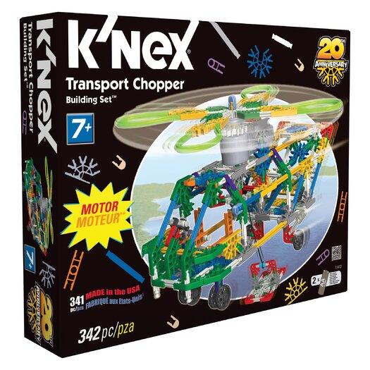 K'NEX Classics Transport Chopper Building Set