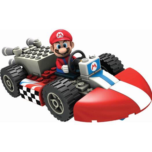 K'NEX Mario and Standard Kart Building Set