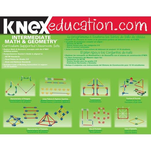 K'NEX Intermediate Math and Geometry
