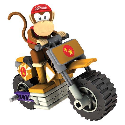 K'NEX Nintendo Diddy Kong and Standard Bike Building Set