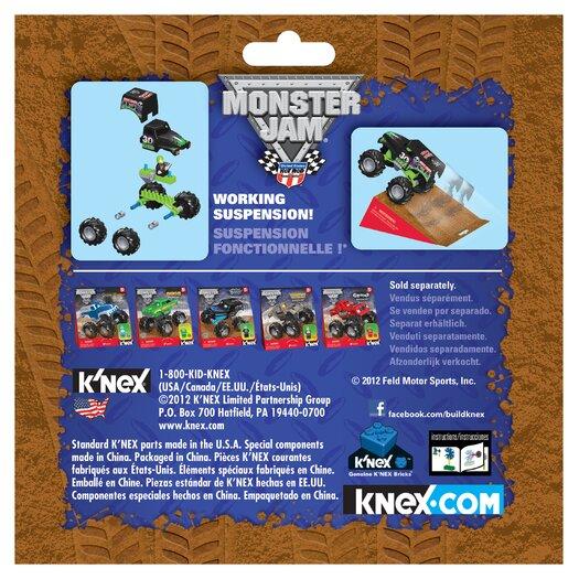 K'NEX Monster Jam 30th Anniversary Grave Digger Building Set