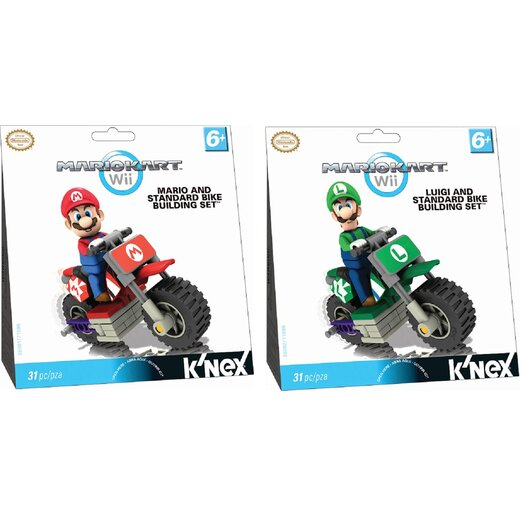 K'NEX Nintendo Mario Kart Wii Standard Bike Kit