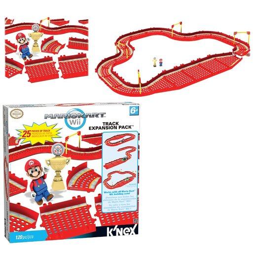 K'NEX Nintendo Mario Kart Wii Mario vs. Thwomp and Mario vs. Goomba Track Pack Kit