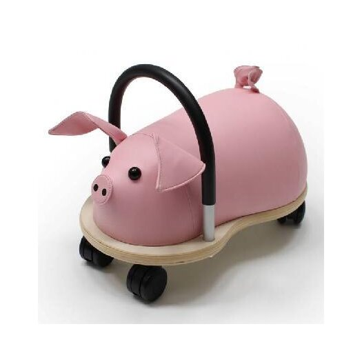 Prince Lionheart Wheely Bug Pig Push/Scoot Ride-On