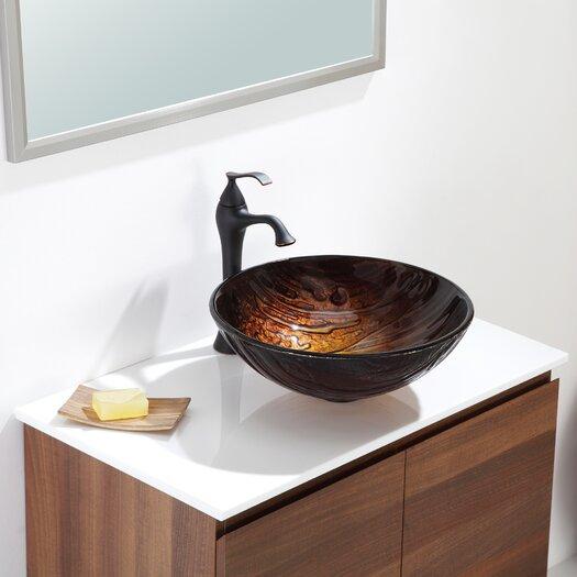 Kraus Titania Glass Vessel Sink