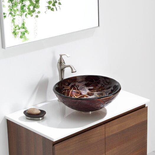 Kraus Dryad Glass Vessel Sink