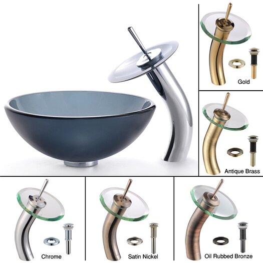 Kraus Glass Vessel Sink