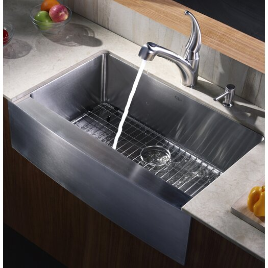 "Kraus Farmhouse 33"" Kitchen Sink"