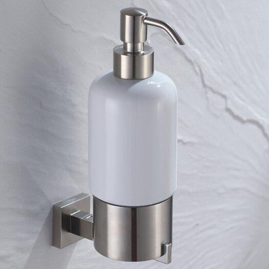 Kraus Aura Wall-mounted Ceramic Lotion Dispenser