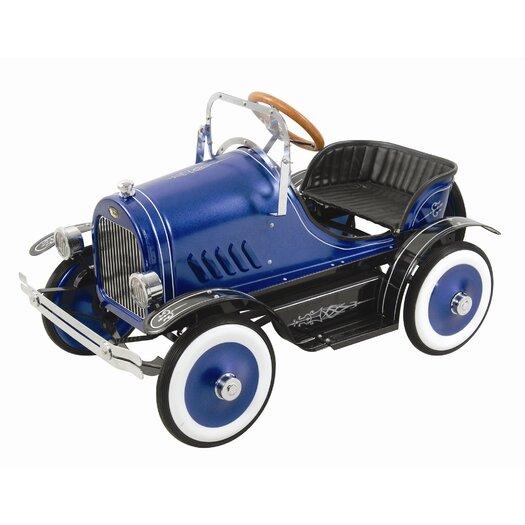 Dexton Kids Deluxe Roadster Pedal Car in Blue