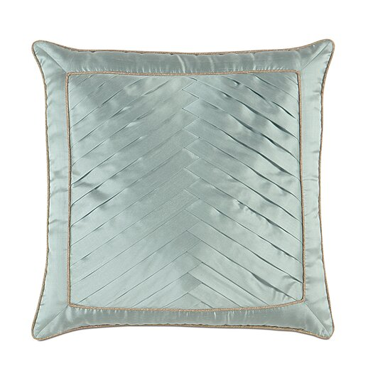Eastern Accents Kinsey Serico Pleats Decorative Pillow