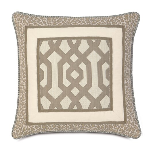 Eastern Accents Rayland Polyester Border Collage Decorative Pillow
