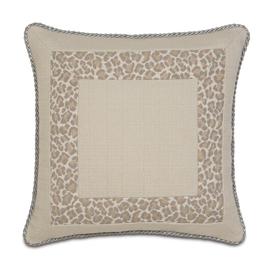 Eastern Accents Rayland Polyester Vivo Border Collage Decorative Pillow