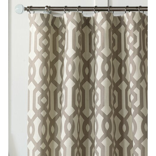 Eastern Accents Rayland Cotton Rod Pocket Curtain Panel
