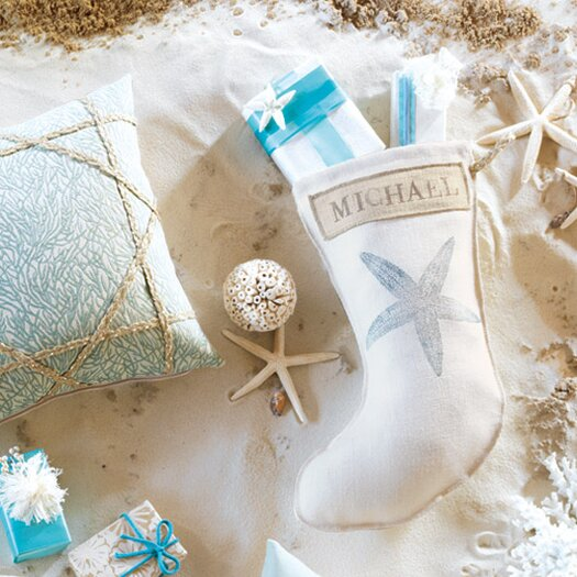 Eastern Accents Coastal Tidings Starry Spa Stocking