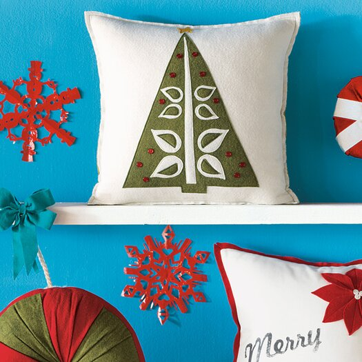 Eastern Accents North Pole O Christmas Tree Decorative Pillow