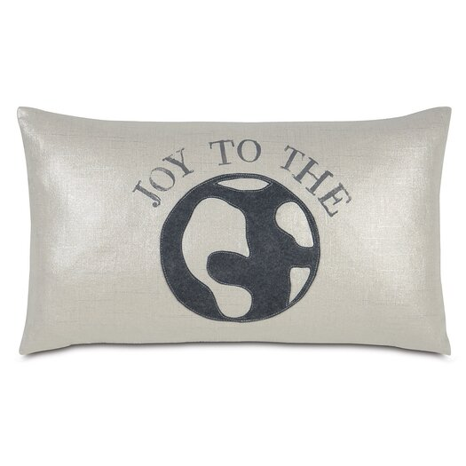Eastern Accents Tinsel Town World of Joy Pillow