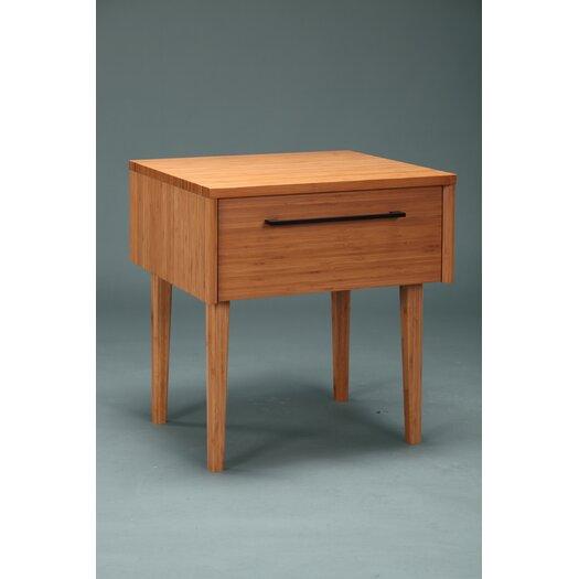 Greenington Sienna 1 Drawer Nightstand