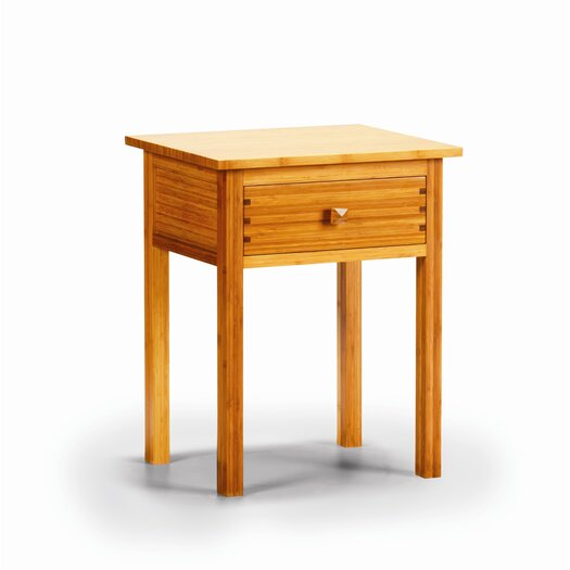 Greenington Hosta 1 Drawer Bamboo Nightstand