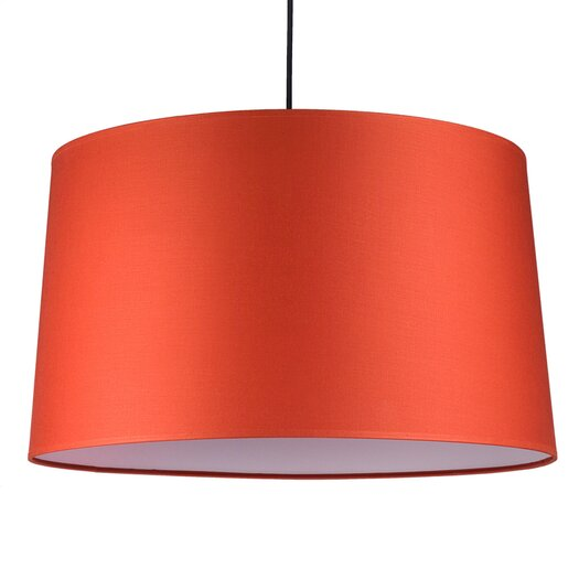 Lights Up! Weegee 2 Light Drum Pendant