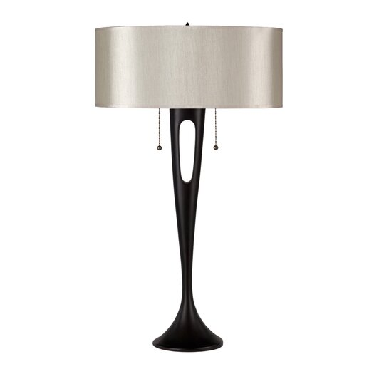 """Lights Up! Soiree 31"""" H Table Lamp with Drum Shade"""