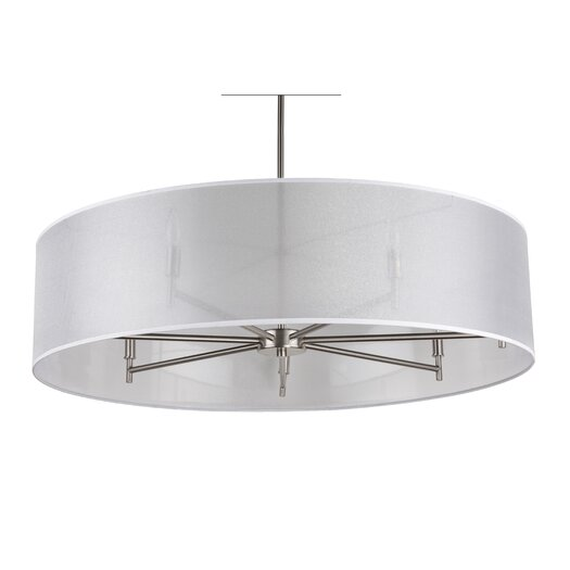 Lights Up! Walker 7 Light Drum Pendant