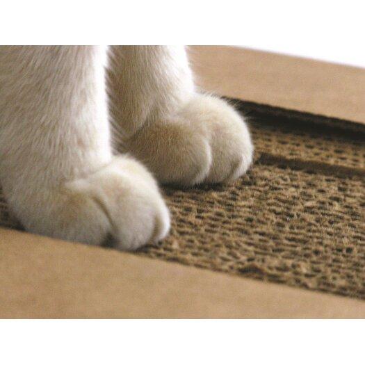 Kittypod Lil' PawPaw Modern Cardboard Scratching Board