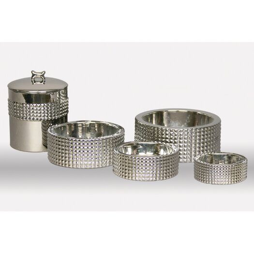 Unleashed Life Berl Treat and Food Pet Canister Nickel