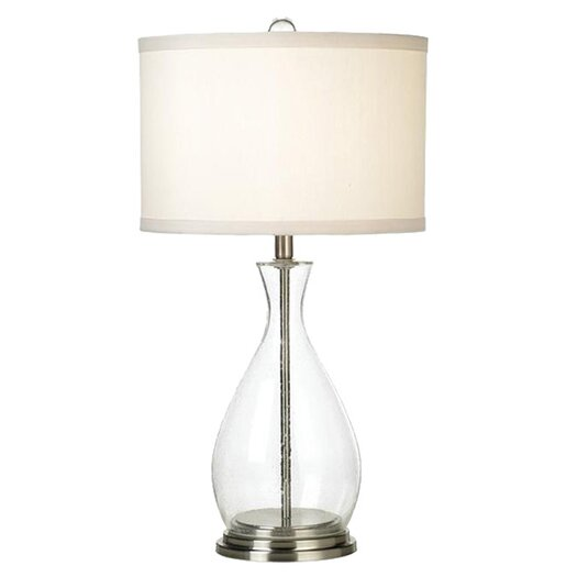 """Pacific Coast Lighting PCL Lucidity 29"""" H Table Lamp with Drum Shade"""
