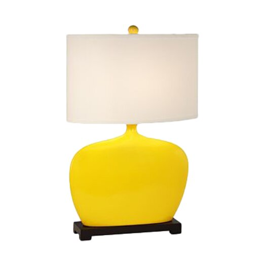 "Pacific Coast Lighting Kathy Ireland Gallery Pop Studio 31"" H Table Lamp with Drum Shade"
