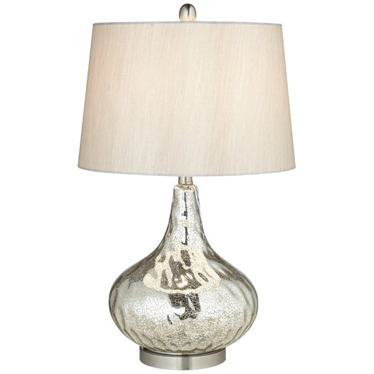 "Pacific Coast Lighting PCL Mercus 26"" H Table Lamp with Empire Shade"