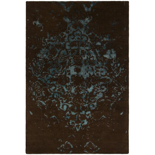 Chandra Rugs Veleno Black Area Rug