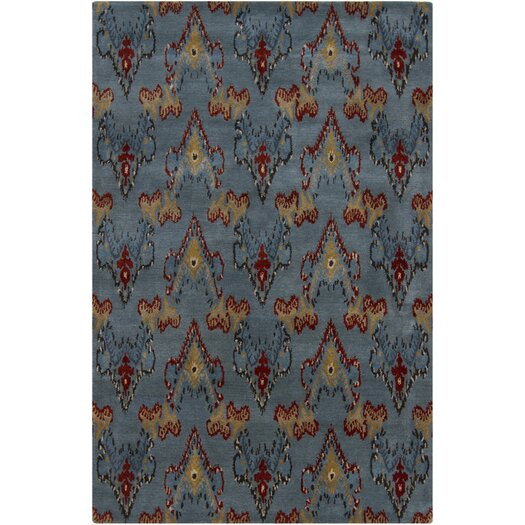 Chandra Rugs Rupec Grey Abstract Area Rug