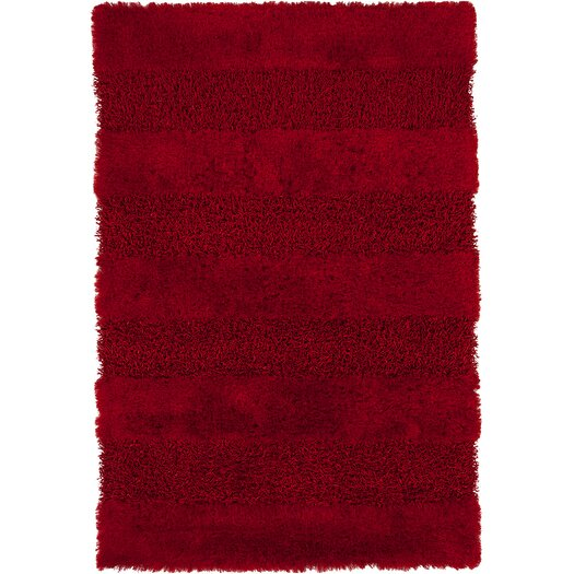 Chandra Rugs Tivid Red Area Rug
