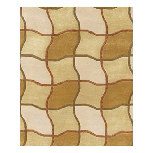Chandra Rugs Aadi Brown/Tan Area Rug