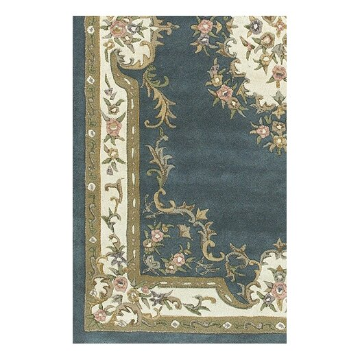 Chandra Rugs Abusson Blue Area Rug