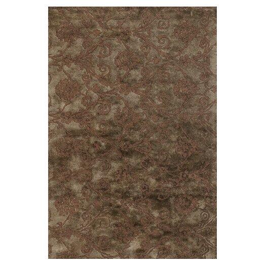 Chandra Rugs Casta Brown / Grey Area Rug