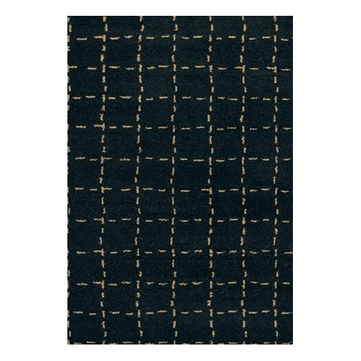 Chandra Rugs Chelsea Black Area Rug