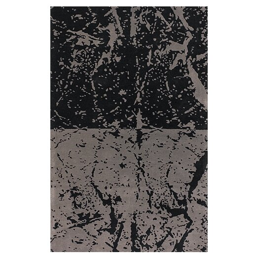 Chandra Rugs Fenja Black/Gray Area Rug