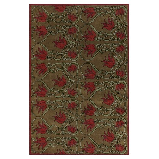 Chandra Rugs Fresca Brown/Tan Area Rug