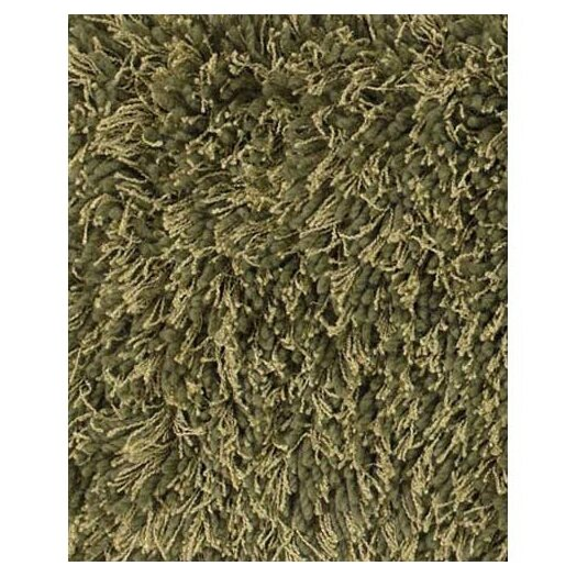 Chandra Rugs Uni Green Area Rug